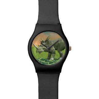 Styracosaurus dinosaur - 3D render Watch
