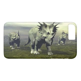 Styracosaurus dinosaurs - 3D render iPhone 8 Plus/7 Plus Case
