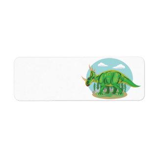 Styracosaurus Return Address Label
