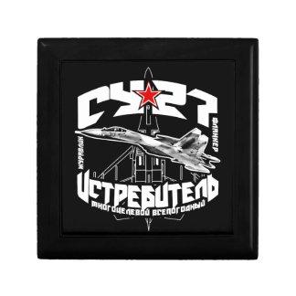 Su-27(Су-27) Wooden Jewelry Keepsake Box