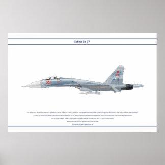 Su-27 Russia 2 Poster