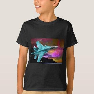 SU-30 RUSSIAN FIGHTER JET T-Shirt