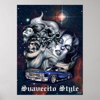 Suavecito Style Poster