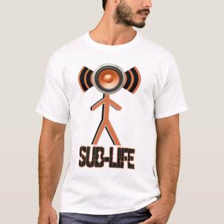 sub life -SUB BASS Wobble DUBSTEP t-shirt