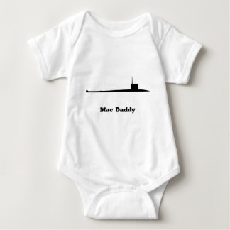 Sub Mac Daddy Baby Bodysuit