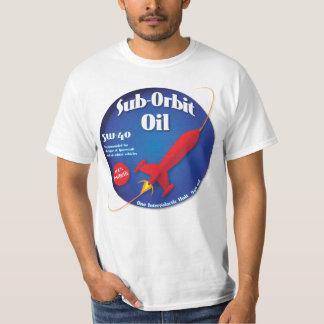 Sub Orbit Oil Brand T shirt Blue Label