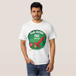 Sub Orbit Oil Brand T shirt Green Label
