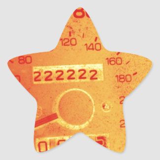 Subaru 222,222 Mile Odometer Star Sticker