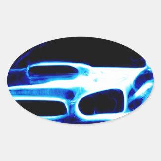 Subaru Impreza Oval Sticker
