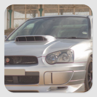Subaru Impreza STi - Body Kit (Silver) Square Sticker