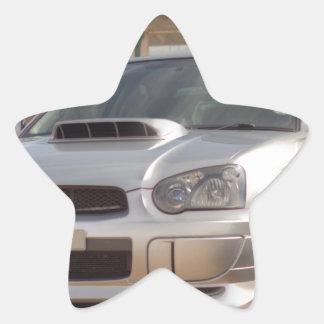 Subaru Impreza STi - Body Kit (Silver) Star Sticker