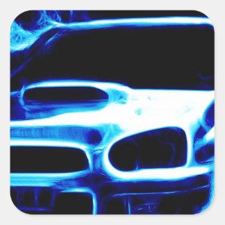 Subaru Impreza Square Sticker