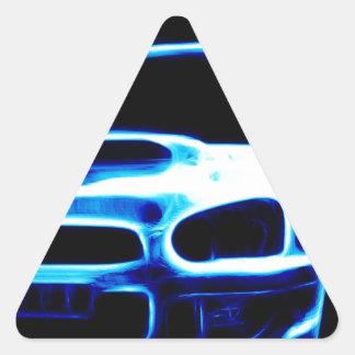 Subaru Impreza Triangle Sticker