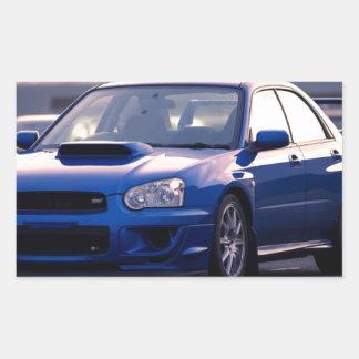 Subaru Impreza WRX STi Rectangular Stickers