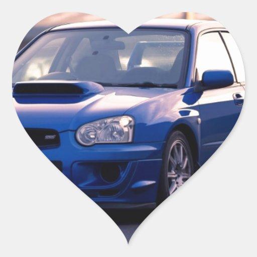 Subaru Impreza WRX STi Sticker