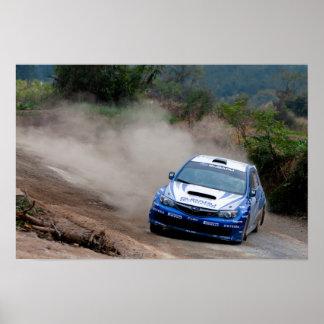 Subaru Rally of China Print