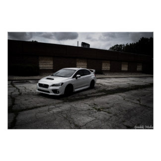 Subaru STi Trespasser Poster