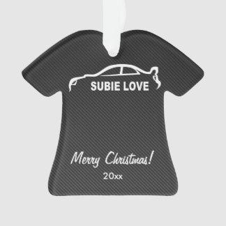 Subaru WRX Impreza STI - Subbie Love Ornament