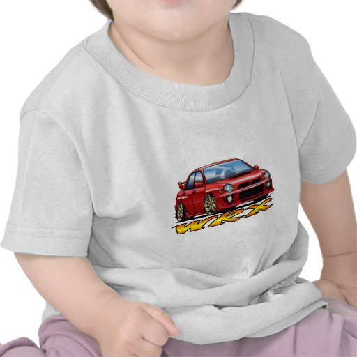 Subaru WRX_red Shirts