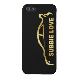 Subbie Sti Love Love Silhouette Logo iPhone 5/5S Case