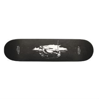 Subbie with Faux  Carbon Fiber Skateboard Decks