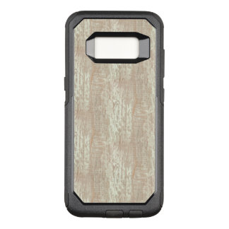 Subdued Coastal Pine Wood Grain Look OtterBox Commuter Samsung Galaxy S8 Case