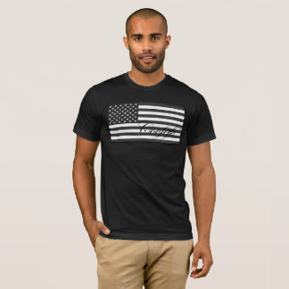 Subdued Covfefe US Flag T-Shirt