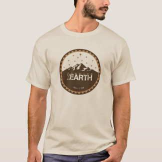 Subdued Earth Round Logo [Sand] T-Shirt