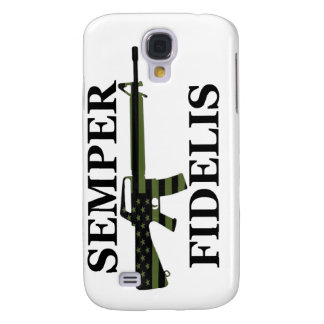 Subdued Semper Fidelis White iPhone 3G/3GS Case