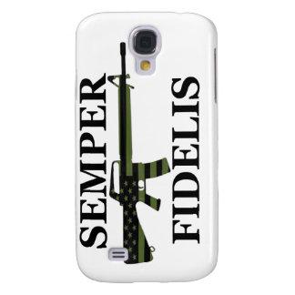 Subdued Semper Fidelis White iPhone 3G/3GS Case