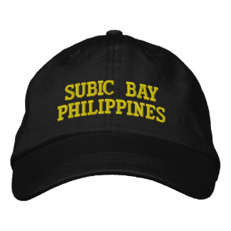 SUBIC BAY HAT EMBROIDERED BASEBALL CAP