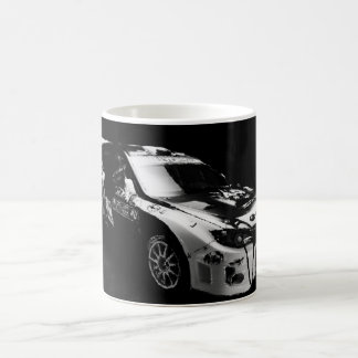 Subie Black and White Coffee Mug
