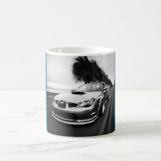 Subie Black and White Coffee Mugs