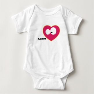 Subie Love Baby Bodysuit