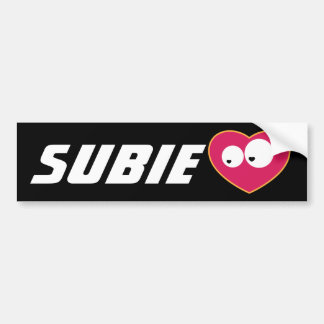 Subie Love Bumper Sticker