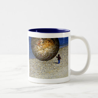 Subjective Reality Kid's Fantasy Two-Tone Coffee Mug