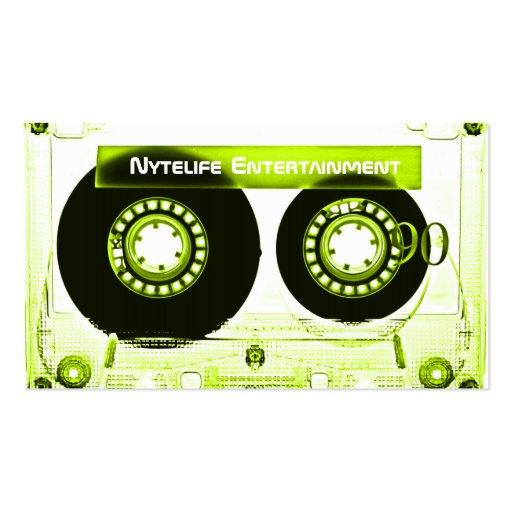 Sublime Lime Mixtape Business Card