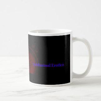 Subliminal Erotica Basic White Mug