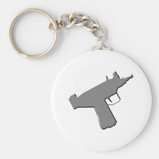 Submachine gun machine pistol Uzi Key Chains