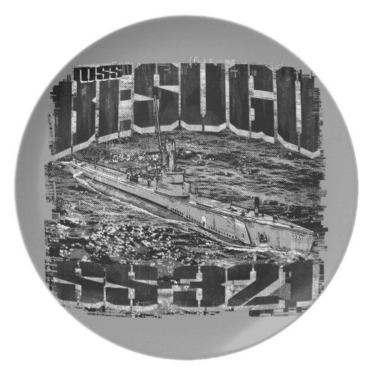Submarine Besugo Melamine Plate Melamine Plate