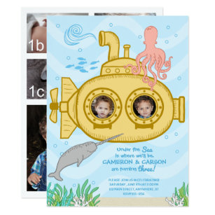 Twins 3rd Birthday Gifts On Zazzle CA