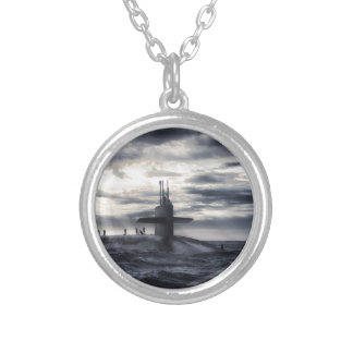 Submarine Silver Plated Necklace