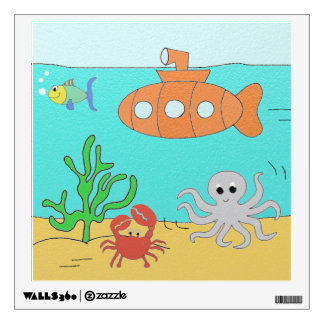 Submarine Wall Sticker