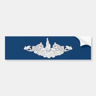 Submariner Dolphins - Bumper Sticker