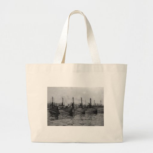 Submarines Ready for Action, 1911 Tote Bag