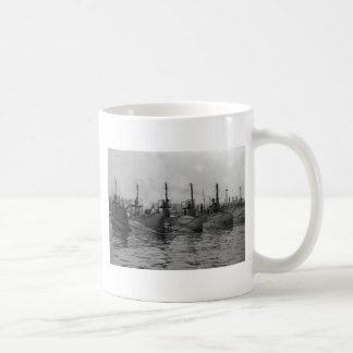 Submarines Ready for Action, 1911 Classic White Coffee Mug