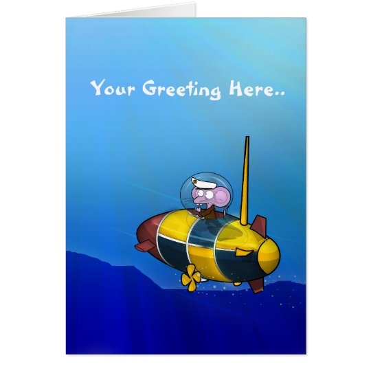 Submaring Mouse Card