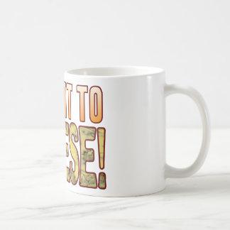 Submit To Blue Cheese Coffee Mug