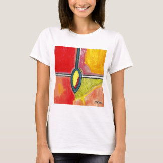 SubQuantum Alphabet: YIN Women's T-Shirt