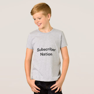 Subscriber Nation T-Shirt